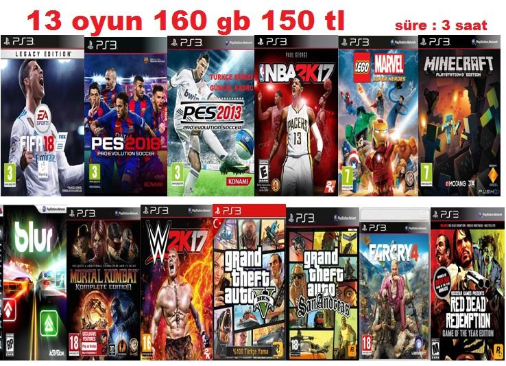 13 oyun 160 gb - Kopya