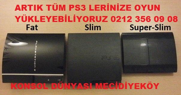 PS3 OYUN YÜKLEME