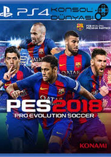 PS4-PES2018